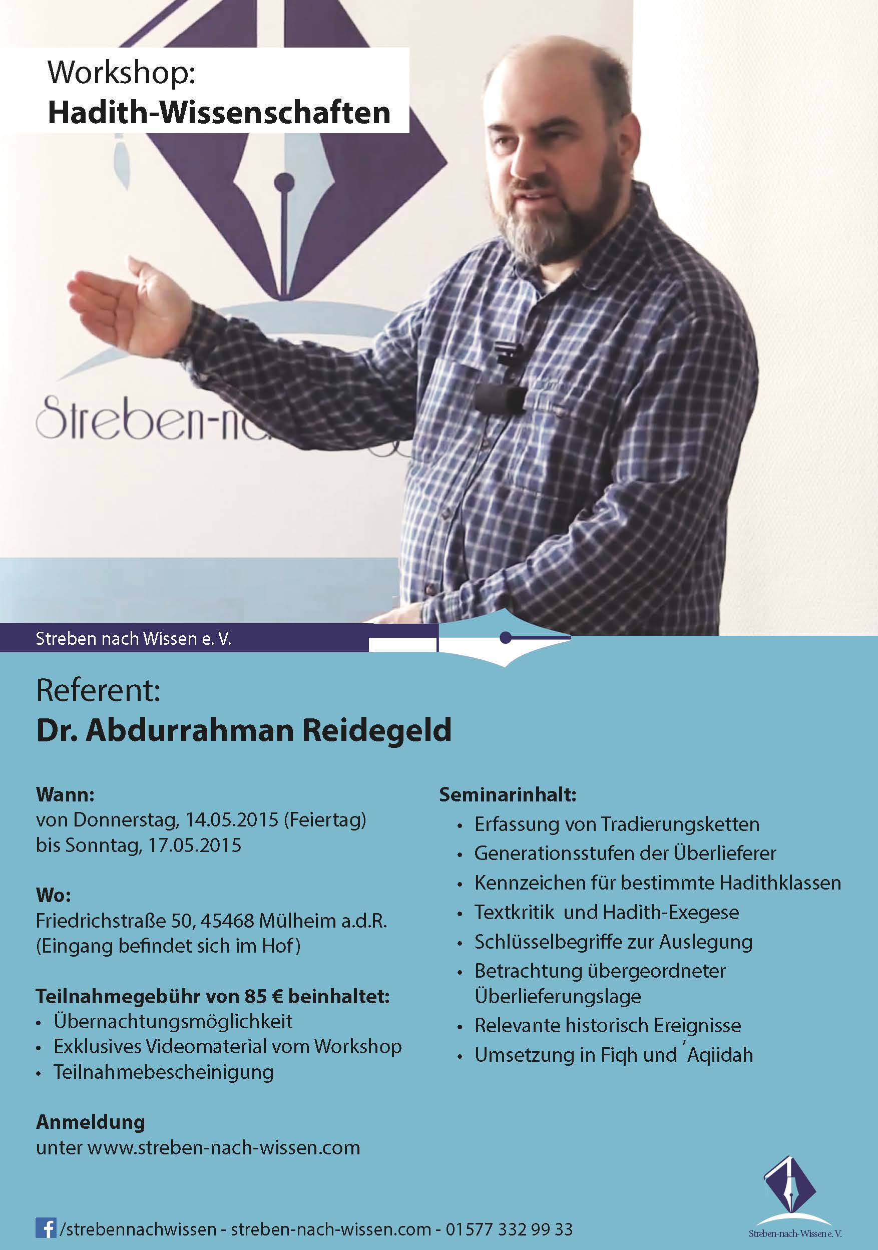 Flyer reidegeld HadithWorkshop WEB A