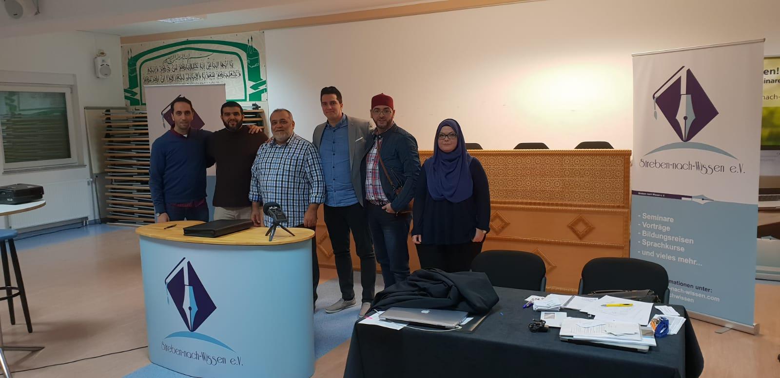 Vorstand SNW mit Amir Zaidan 1